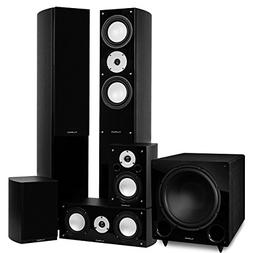 Fluance Reference Series Surround Sound Home Theater 5.1 Cha