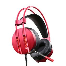 ET Robot Gaming Headset with Mic Noise Reduction Game Earpho