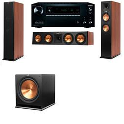 Klipsch RP-250F Tower Speakers CH-SW-112-7.2-Denon AVR-X3300