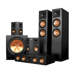 Klipsch RP-280F Home Theater System Bundle  with Yamaha RX-A