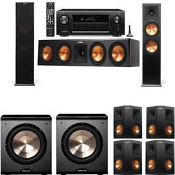 Klipsch RP-280F Tower Speakers-PL-200-7.2-Denon AVR-X4300H