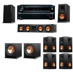Klipsch RP-160M-E Monitor Speaker 7.2 R112SW Onkyo TX-NR646