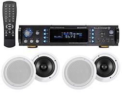 "Rockville RPA6000USB 1000 Watt Home Theater Receiver+ 8"" In-"