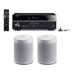 Yamaha RX-V485 5.1-Channel Network AV Receiver with MusicCas