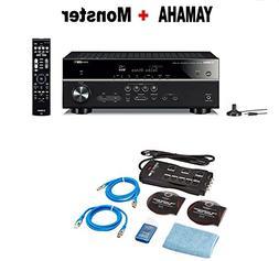 Yamaha RX-V585BL 7.2-Channel 4K Ultra HD AV Receiver with Wi