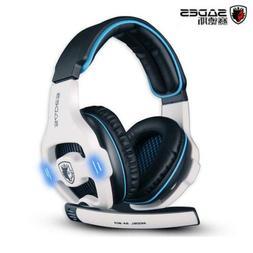 Sades SA-903 Gaming Headset 7.1 Surround Sound channel USB W