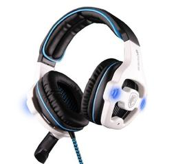 SADES SA-901 USB Wired 7.1 Surround Noise Cancelling PC Gami