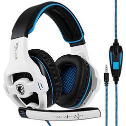 SADES SA810 Gaming Headset Stereo Surround Sound Headphones