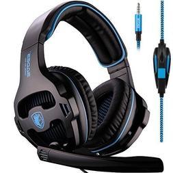 SADES SA810 Stereo Gaming Headset for PS4, PC, Xbox One Cont