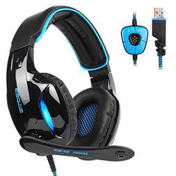SADES SA902 Gaming Headset 7.1 Virtual Surround Stereo Sound