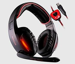 SA902 USB 7.1 Surround Sound Vibration Game Gaming Headphone