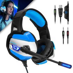 ONIKUMA K5 Surround Sound Stereo Gaming Headset Led Light W/