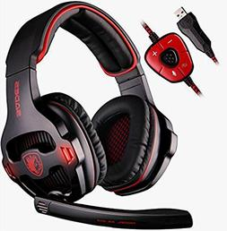 SA903 USB 7.1 Surround Sound Vibration Game Gaming Headphone