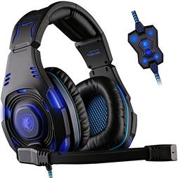 SADES SA907 USB 7.1 Virtual Surround Sound Stereo WCG Gaming
