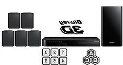 SAMSUNG Region Free HT-J4500 5.1-Channel Smart Blu-ray Home