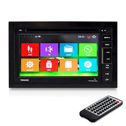 Lanzar SDN65BT 6.5-Inch Video Headunit Receiver Bluetooth Wi