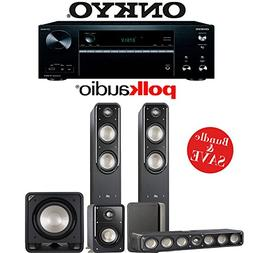 Polk Audio Signature S55 5.1-Ch Home Theater Speaker System