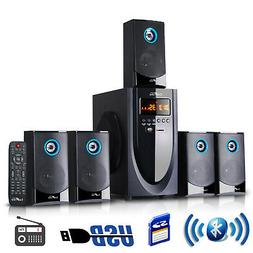 Smart Home Theater Speaker System 5.1 Channel Surround Sound