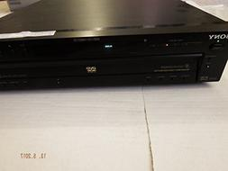 SONY DVP-NC600 Multi 5-Disc DVD/CD/Video-CD Player/Changer,