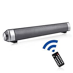 Sound Bar, Soundbar TV Wired and Wireless Bluetooth Surround