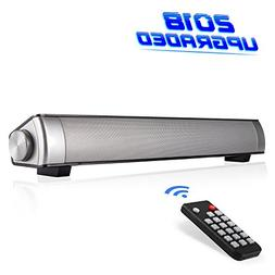 monochef Soundbar TV Sound Bar Wired and Wireless Bluetooth