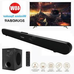 Sound Bar Wireless 3D Surround Home Theater TV Speaker Bluet