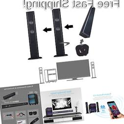 LuguLake Soundbar, 2.1 Channel TV Sound bar System with Subw