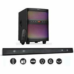 soundbar 2 1 channel tv system