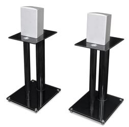Mount-It! Speaker Stands for Book Shelf and Surround Sound S