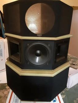 Klipsch SS1 Surround Speakers Tested Great Sound !!!!!
