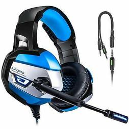 ONIKUMA Stereo Gaming Headset for PS4, Xbox One, PC, Enhance