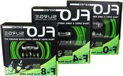 Surge F-4 Flo Series by Surge 4 Gauge 2000W AWG Amplifier In