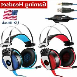 EACH Surround Gaming Headsets Stereo Headphones for PS4 New