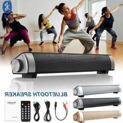 Surround Sound Bar Speaker System Wireless BT Subwoofer TV H
