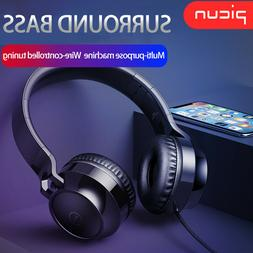 Surround Sound Gaming Headphones Stereo Over-Ear Headset Hea