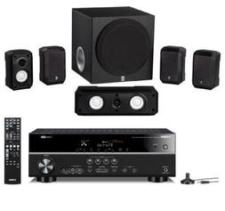Yamaha 5.1 Channel 600 Watt Surround Sound Home Theater Syst