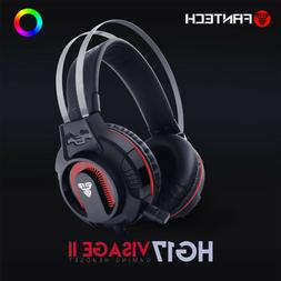 Surround Sound LED Headphones Gaming Headset Stereo  with Mi