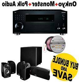 Onkyo 11 Channel Surround Sound Pre-Amplifier Audio Componen