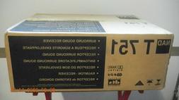 NAD T 751 5.1 Channel 300 Watt Surround Sound Receiver - BRA
