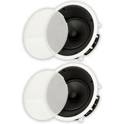 Theater Solutions TS80A In Ceiling 8 Angled Speakers Home Th