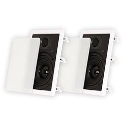 """Theater Solutions by Goldwood TS65W In Wall 6.5"""" Speakers Su"""