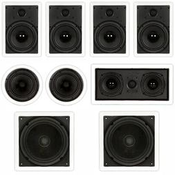 Theater Solutions TST87 In Wall and In Ceiling 8 Speakers 20