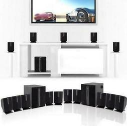 Tv Home Theater Speaker System Surround Sound Bar Set 800W 5