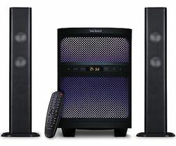 LuguLake TV Sound bar Speaker System with Subwoofer, Bluetoo