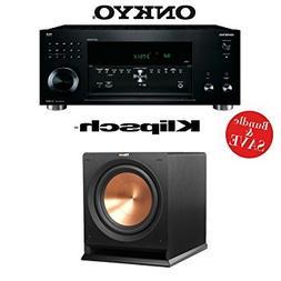 Onkyo TX-RZ810 7.2-Channel Network A/V Receiver +  Klipsch R