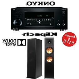 Onkyo TX-RZ810 7.2-Channel Network A/V Receiver +  Pair of K