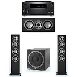 ELAC Uni-Fi 3.1 System with 2 UF5 Floorstanding Speakers, 1