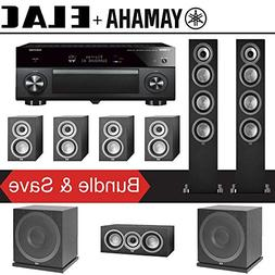 Elac Uni-Fi UF5 7.2-Ch Home Theater Speaker System with Yama