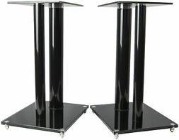 universal floor speaker stands dual