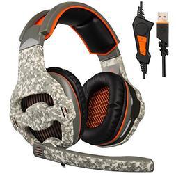 New Updated SADES SA918 7.1 Surround Stereo Sound USB Gaming